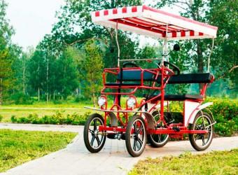 Прокат 4-х колесных ВелоМобилей и спортинвентаря